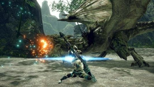 Slay the poisonous Rathian in the Monster Hunter Rise on Switch!