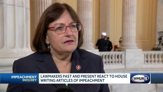 Lawmakers past and present react to House writing articles of impeachment