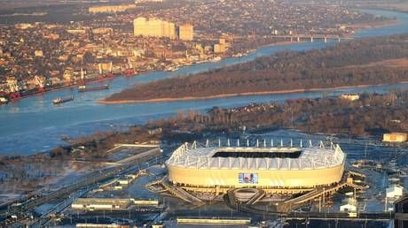 Rescuer dies as enormous FIRE erupts near Rostov-on-Don 2018 World Cup stadium