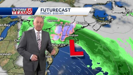 Video: Some areas of Mass. will see snow during oncoming storm