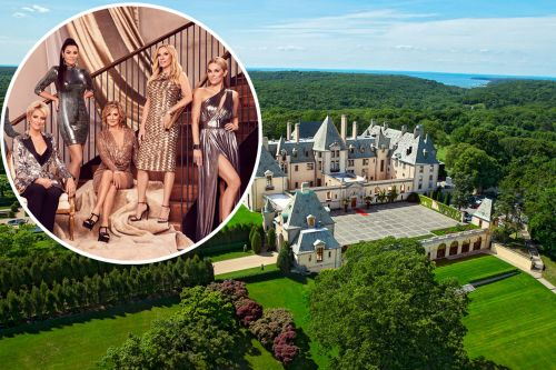 'RHONY' taping their reunion at Oheka Castle on Long Island