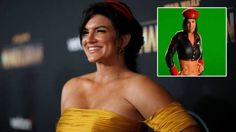 'The real Russian collusion': Cancel culture victim Gina Carano recalls game role, blasts vaccinations, masks & US president Biden