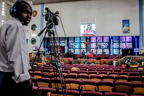 Coronavirus Crisis Forces Churches To Put An Updated Spin On Baptizing