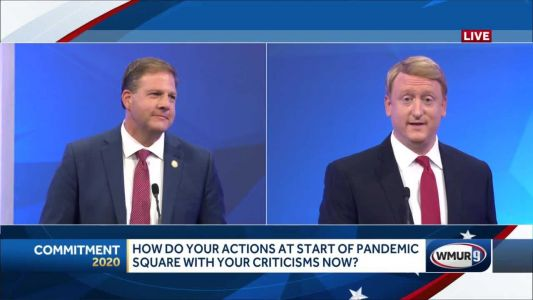 2020 NH gubernatorial debate: Governor addresses long-term care facilities; NH Senate's pandemic response