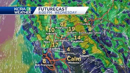 Wind for Wednesday