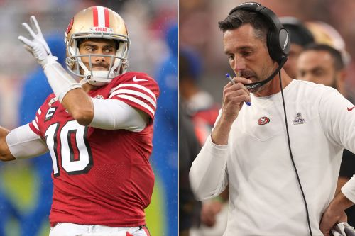 49ers, Kyle Shanahan don't sound thrilled about sticking with Jimmy Garoppolo