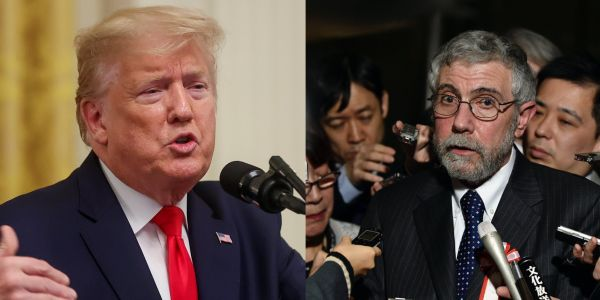 Donald Trump calls for The New York Times to fire economist Paul Krugman in the latest escalation of their longtime feud
