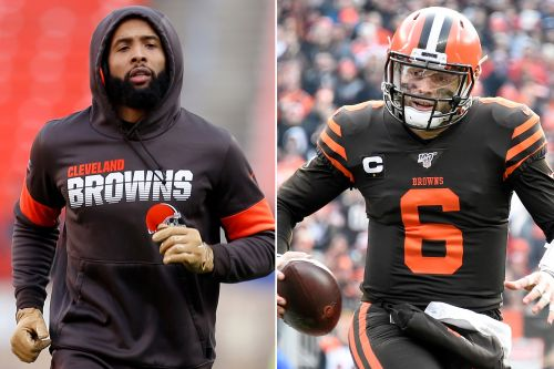 Odell Beckham, Baker Mayfield pour gas on Browns' dumpster fire