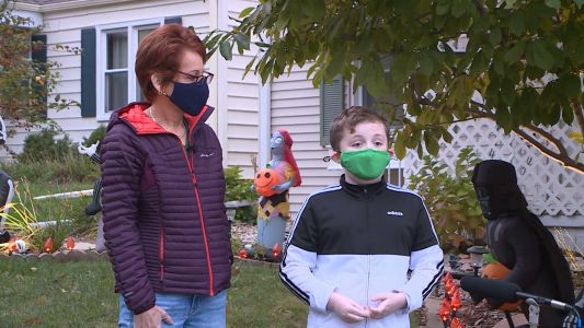 'We need to get the vaccines fast, so we can visit the people we love': 11-year-old on COVID-19 shot