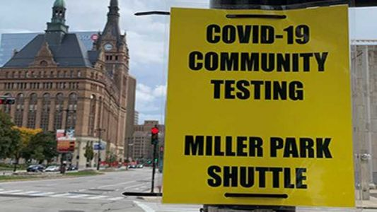 Milwaukee Health Department offers free shuttle to Miller Park for COVID tests