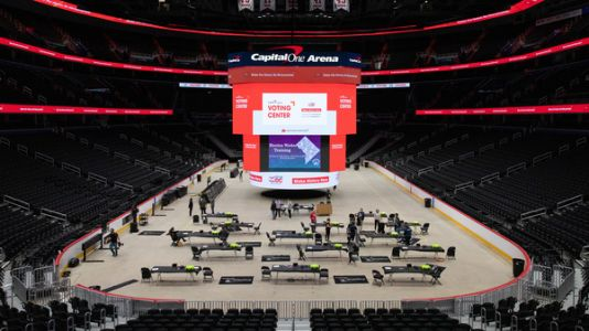 NBA Arenas Are Becoming Voting Centers. Will They Draw The Same Crowds?