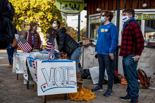 Young voters in the US turned out in record numbers in 2020, powering Biden's presidential victory