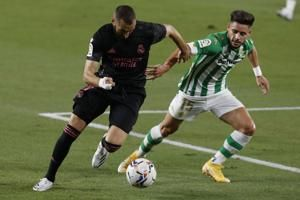 VAR decisive in Real Madrid's 3-2 win at 10-man Real Betis
