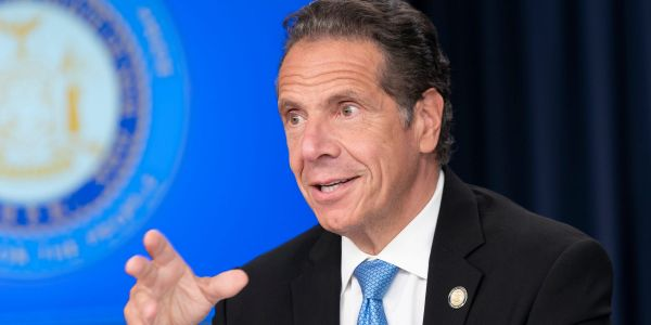 New York governor Andrew Cuomo will receive an Emmy for showing 'leadership' during his daily COVID-19 press briefings