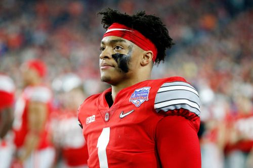 Justin Fields now betting favorite to land with 49ers in NFL Draft