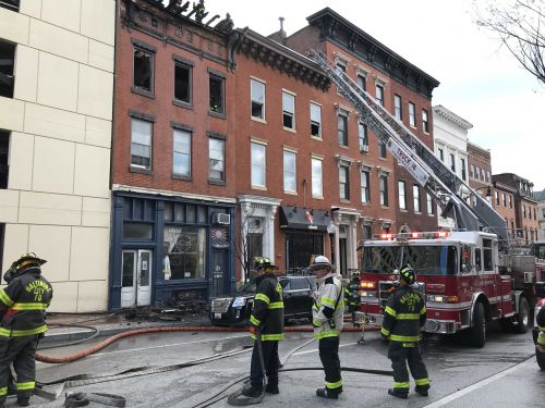 Firefighters called to fire on North Charles Street in Baltimore