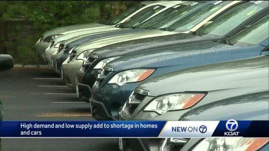 Shortages continue in real estate and auto industry in New Mexico