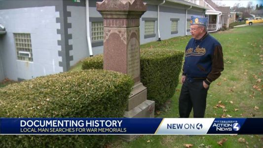 Local man makes it his mission to document all local war memorials