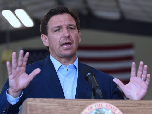 Florida Gov. Ron DeSantis says his state is suing the CDC to bring back cruises