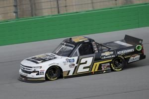 Creed wins rain-shortened Trucks race at Kentucky Speedway