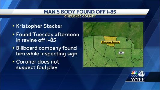 No foul play suspected in death of man found in ravine by billboard inspector