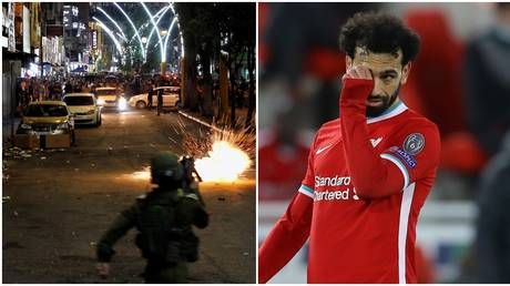 'Enough is enough': Mo Salah pleads for 'violence and killing of innocent people' to stop as Israeli-Palestinian clashes continue