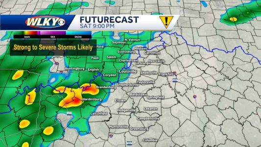 Strong to severe storms possible tonight
