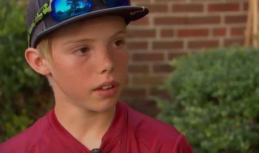 'Let 'em have it:' 11-year-old boy uses machete to stop home invader