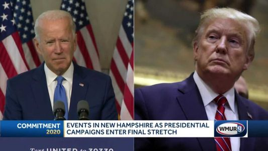 Presidential campaigns focus on NH in runup to Election Day