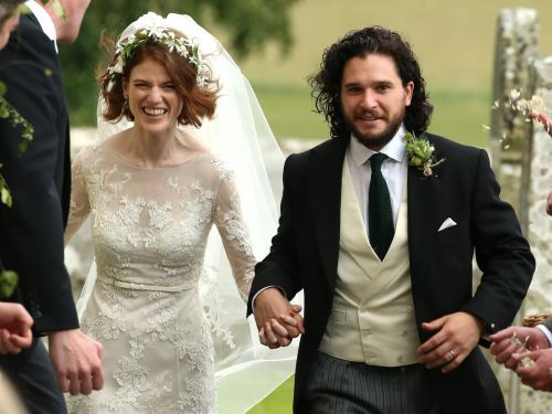 Kit Harington and Rose Leslie are officially married - see the best photos from their stunning wedding day