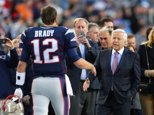 Tom Brady appeared to make a massage parlor reference in a new Netflix show after Patriots owner Robert Kraft's prostitution charge