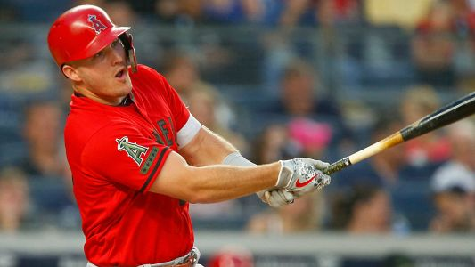 Angels' Mike Trout turns in career night with five hits, four for extra bases
