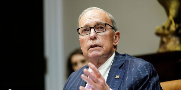 The US doesn't need extra stimulus in the economy for a V-shaped recovery, Trump adviser Kudlow says
