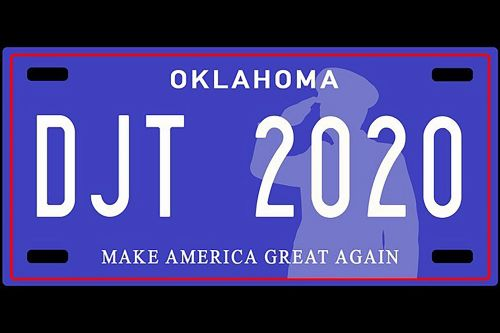 Oklahoma lawmakers propose 'MAGA' license plates to raise money for veteran groups
