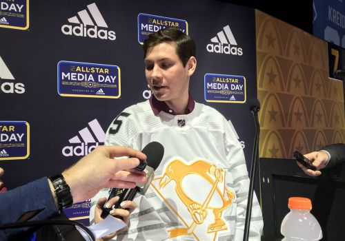 Tristan Jarry, in St. Louis for his first NHL All-Star game, reflects on his rapid ascension