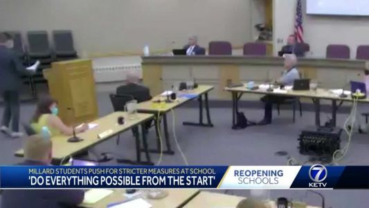 'Do everything from the start': Millard students push for stricter measures at school