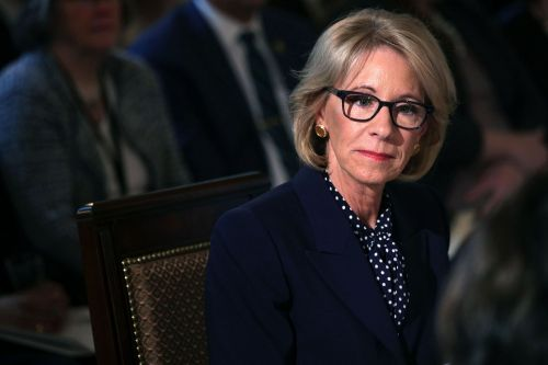 Betsy DeVos defends cutting $18M in Special Olympics funds