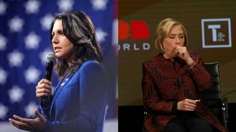 'Queen of warmongers, embodiment of corruption': Tulsi Gabbard DRAGS Hillary Clinton after 'Russian asset' claim