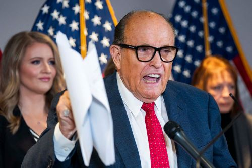 Rudy Giuliani sued by Dominion Voting Systems for $1.3B over election fraud claims