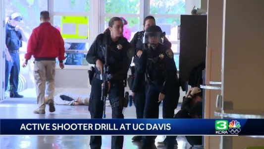 'We hope this never materializes': Active shooter drill held at UC Davis