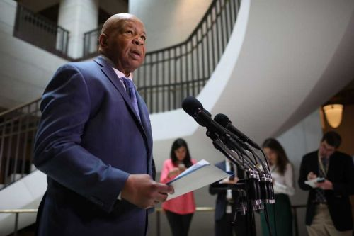 Hours before passing, Cummings signed subpoenas directed to two US immigration agencies