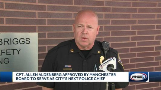 Allen Aldenberg to be Manchester's new police chief
