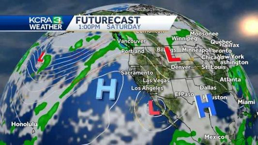 Warmer temperatures return for the weekend