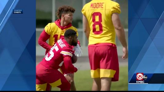 Chiefs rookies get workout Tuesday at training camp