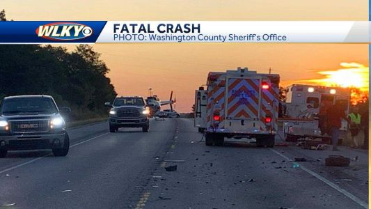 Deadly crash shuts down part of US 150 in Washington County