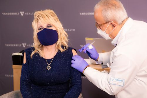 Dolly Parton gets first vaccine dose, calls anti-vaxxers 'cowards'