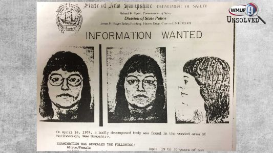 Body of woman found in NH in 1974 still unidentified; case is cold