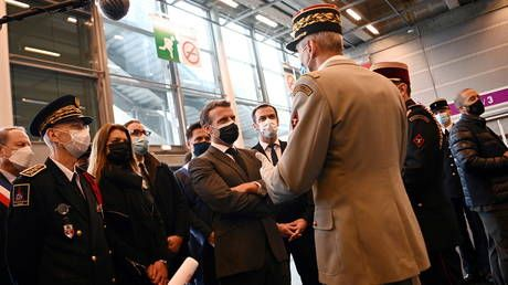 Macron dismisses vaccine patent waiver push, blames 'Anglo Saxons' for blocking exports of Covid jabs, raw ingredients