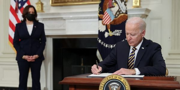 Biden revoked a slew of Trump executive orders, including one restricting funds to 'anarchist' cities and one insisting on neoclassical architecture