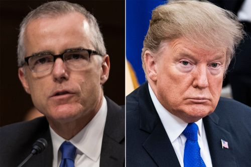 McCabe: Trump wanted Russia probe in letter firing Comey